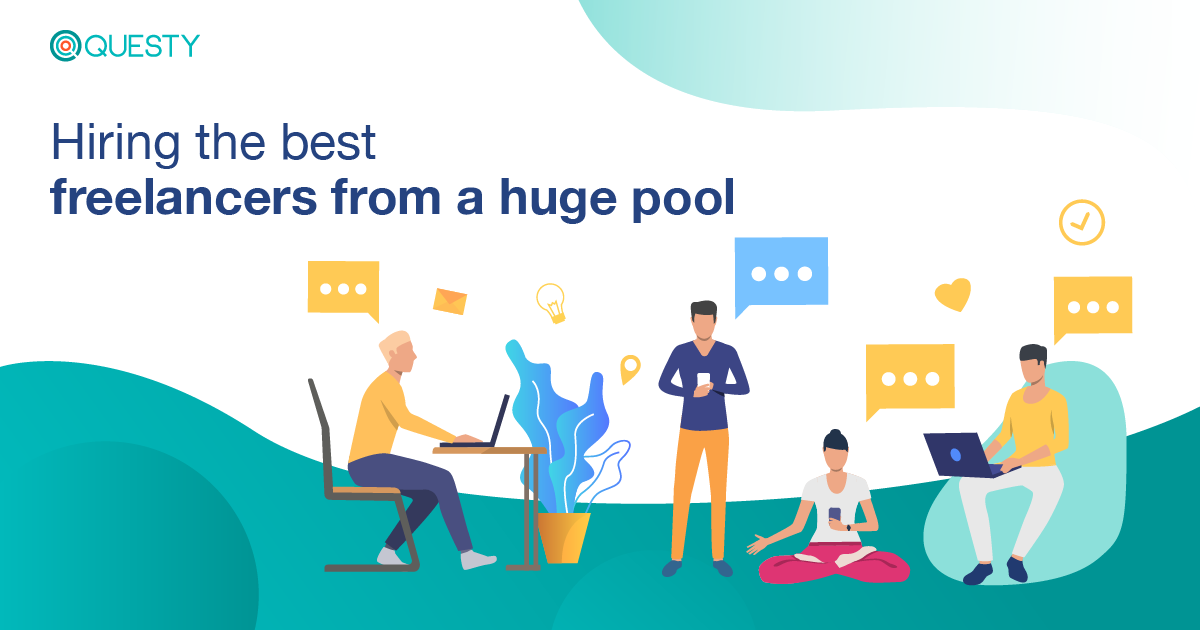 Hiring The Best Freelancers From A Huge Pool